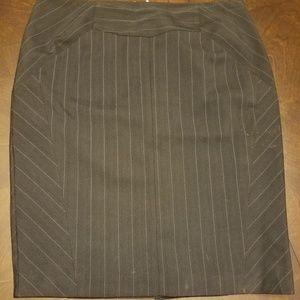 NWOT Worthington Size 8 Pin Striped, Lined Skirt